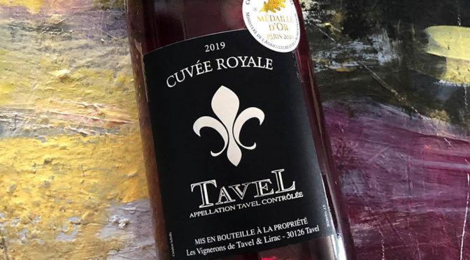 2019 Les Vignerons de Tavel & Lirac, Tavel Cuvée Royal Rosé, Rhône, Frankrig