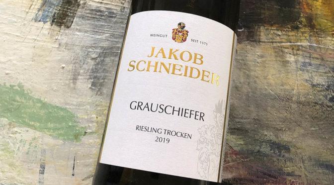2019 Weingut Jakob Schneider, Grauschiefer Riesling Trocken, Nahe, Tyskland