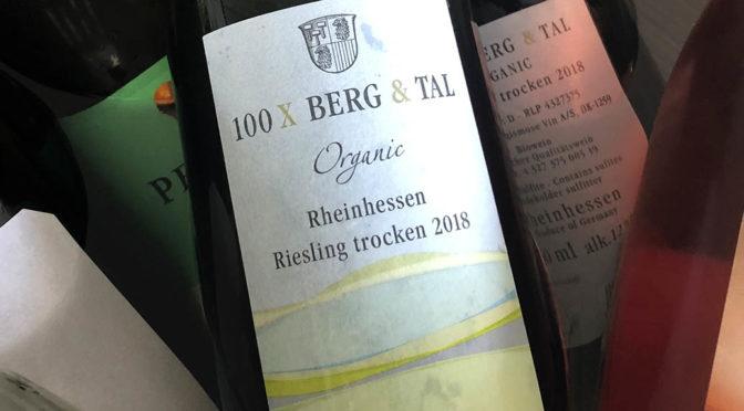 2018 Weingut Wittmann, 100 x Berg & Tal Riesling Organic, Rheinhessen, Tyskland