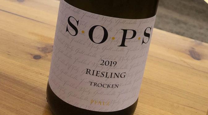 2019 Weingut Dambach, SOPS Riesling Trocken, Pfalz, Tyskland