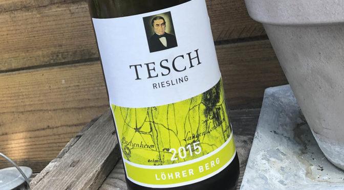 2015 Weingut Tesch, Riesling Löhrer Berg, Nahe, Tyskland