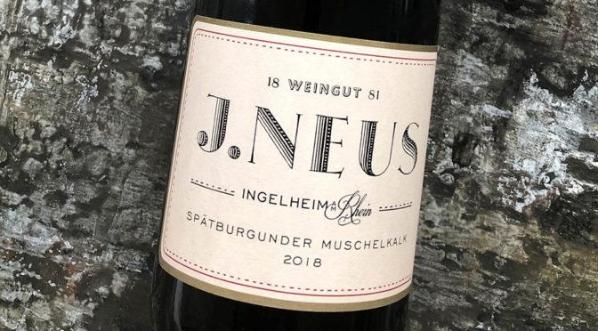 2018 Weingut J. Neus, Spätburgunder Muschelkalk, Rheinhessen, Tyskland
