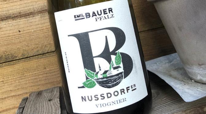 2019 Weingut Emil Bauer & Söhne, Nussdorfer Viognier, Pfalz, Tyskland