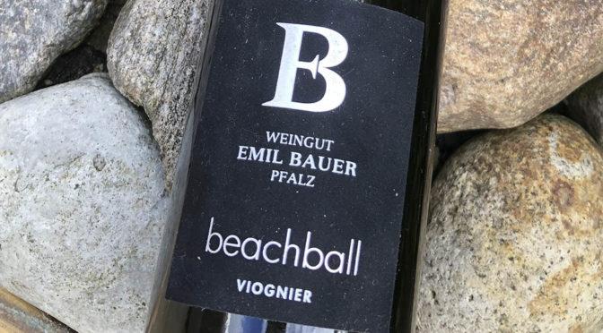 2018 Weingut Emil Bauer & Söhne, Beachball Viognier, Pfalz, Tyskland