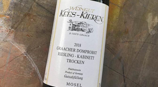 2018 Weingut Kees-Kieren, Graacher Domprobst Riesling Kabinett Trocken, Mosel, Tyskland