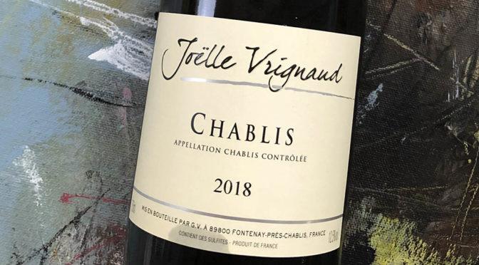 2018 Domaine Joëlle Vrignaud, Chablis, Bourgogne, Frankrig