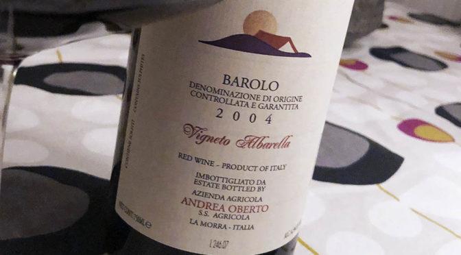 2004 Andrea Oberto, Barolo Albarella, Piemonte, Italien