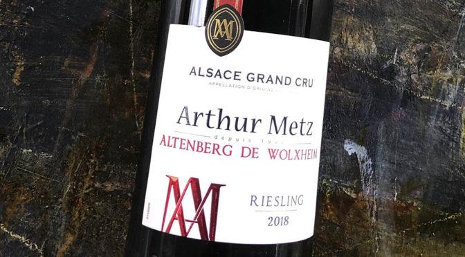 2018 Arthur Metz, Riesling Grand Cru Altenberg de Wolxheim, Alsace, Frankrig