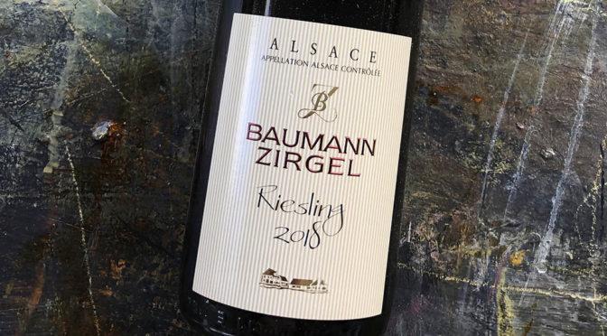 2018 Baumann-Zirgel, Alsace Riesling, Alsace, Frankrig