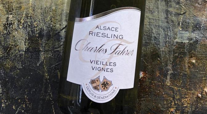 2017 Charles Fahrer & Fils, Riesling Vieilles Vignes, Alsace, Frankrig