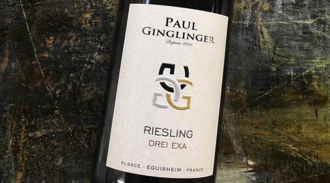 2019 Paul Ginglinger, Riesling Drei Exa, Alsace, Frankrig