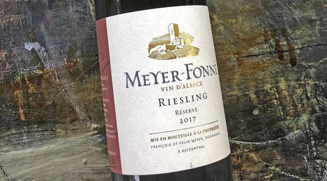 2017 Domaine Meyer-Fonné, Riesling Réserve, Alsace, Riesling