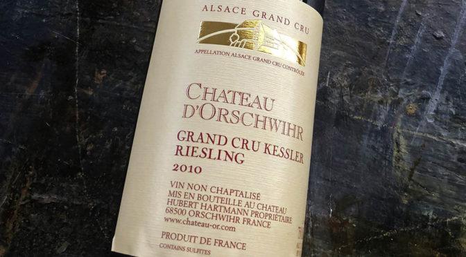 2010 Château d`Orschwihr, Riesling Grand Cru Kessler, Alsace, Frankrig