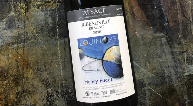 2018 Henri Fuchs, Riesling Cuvée Equinoxe, Alsace, Frankrig