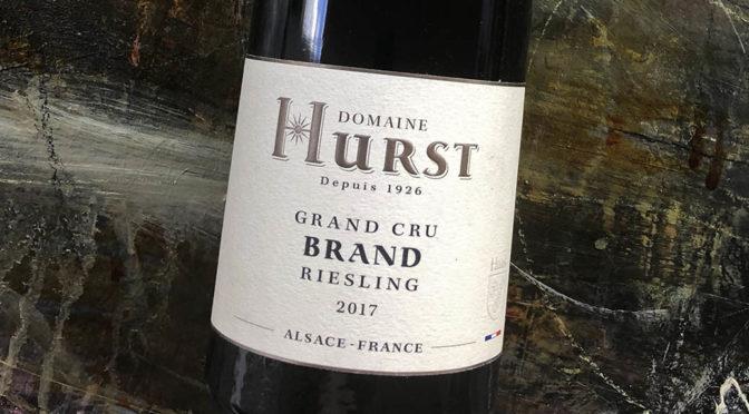 2017 Domaine Armand Hurst, Riesling Grand Cru Brand Vieilles Vignes, Alsace, Frankrig
