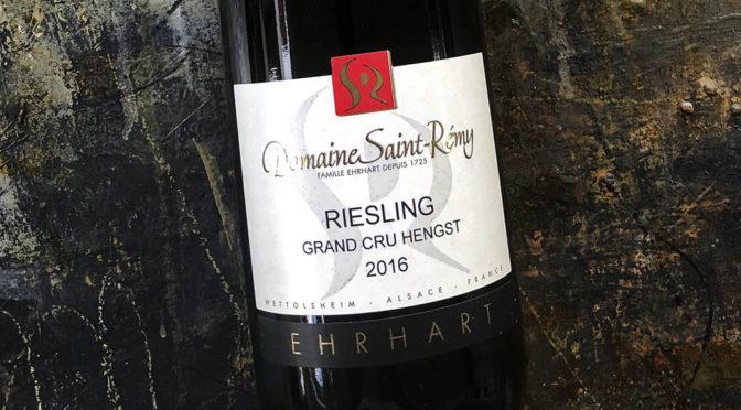 2016 Domaine Saint-Rémy, Riesling Grand Cru Hengst, Alsace, Frankrig