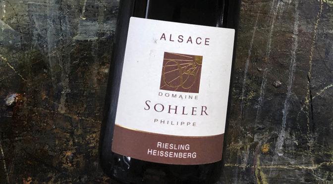 2017 Domaine Sohler, Riesling Lieu-dit Heissenberg, Alsace, Frankrig