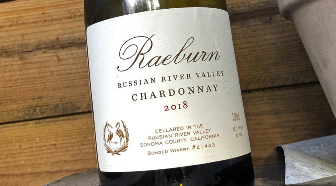 2018 Raeburn Winery, Russian River Valley Chardonnay, Californien, USA