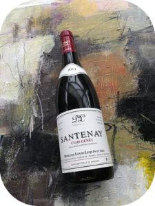 2011 Domaine Louis Lequin et Fils, Santenay Clos Genêt, Bourgogne, Frankrig