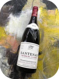2012 Domaine Louis Lequin et Fils, Santenay Premier Cru La Comme, Bourgogne, Frankrig