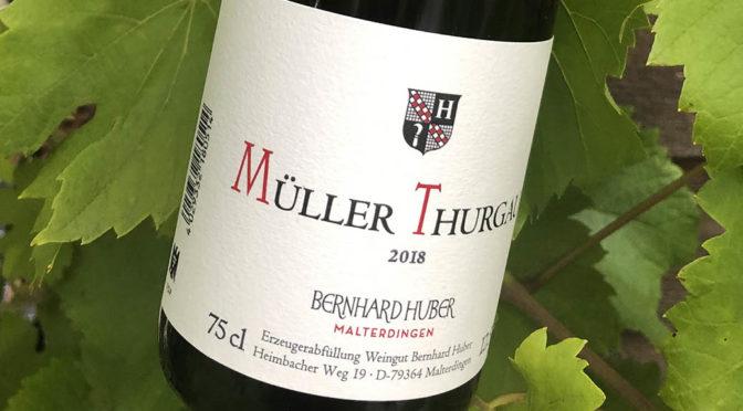 2018 Weingut Bernhard Huber, Müller-Thurgau, Baden, Tyskland