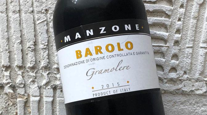 2015 Giovanni Manzone, Barolo Gramolere, Piemonte, Italien