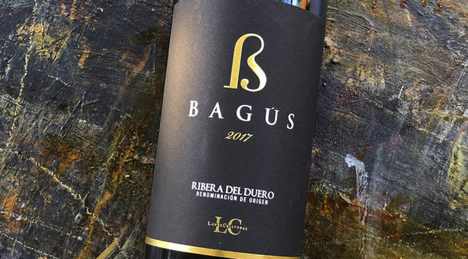 2017 Bodegas López Cristobal, Bagús, Ribera del Duero, Spanien