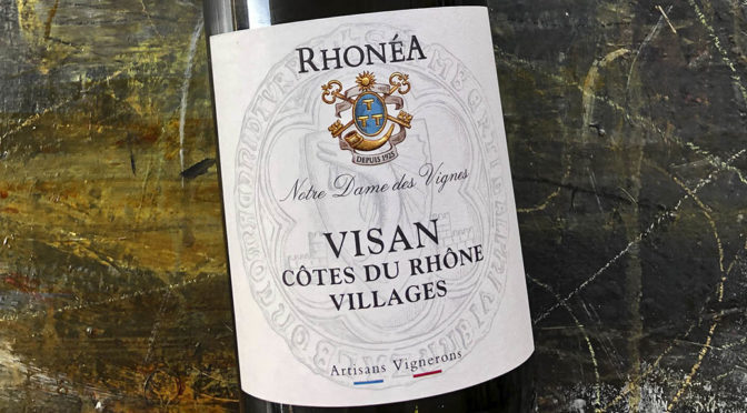 2018 Rhonéa Vignobles, Visan Notre dame des Vignes Côtes du Rhône Villages, Rhône, Frankrig