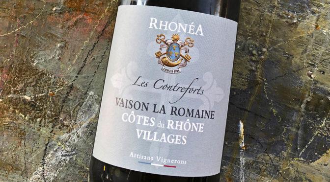 2018 Rhonéa Vignobles, Vaison la Romaine Les Contreforts Côtes du Rhône Villages, Rhône, Frankrig