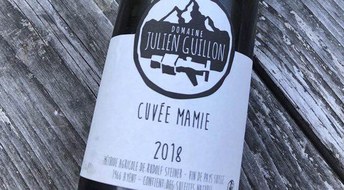 2018 Julien Guillon, Cuvée Mamie, Valais, Schweiz