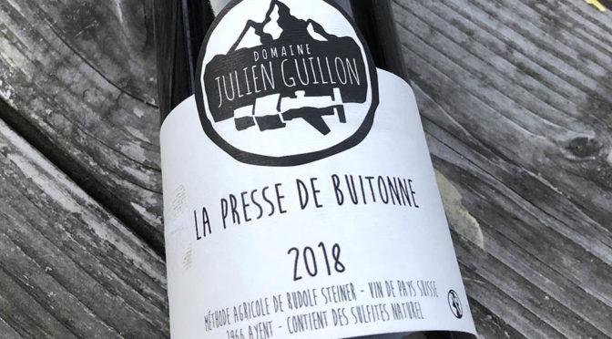 2018 Julien Guillon, La Presse de Buitonne, Valais, Schweiz