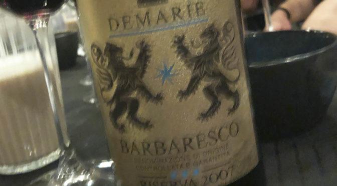 2007 Demarie, Barbaresco Riserva, Piemonte, Italien