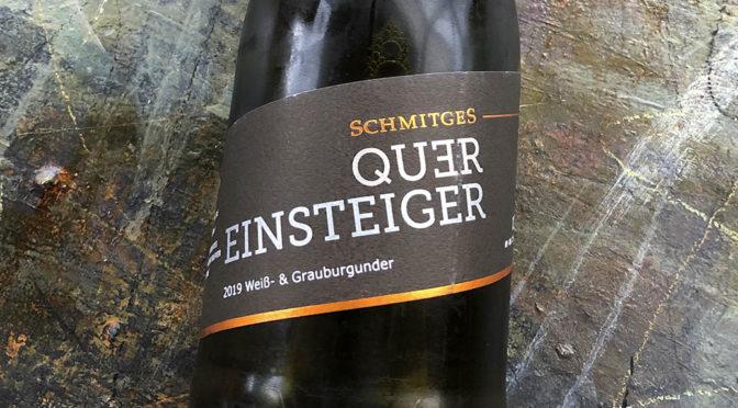 2019 Weingut Schmitges, Quereinsteiger Weiß- & Grauburgunder, Mosel, Tyskland