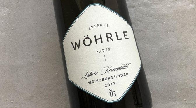 2019 Weingut Wöhrle, Lahrer Kronenbühl Weissburgunder, Baden, Tyskland
