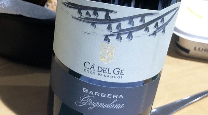 2018 Ca' del Gè, Barbera Grignolona, Lombardiet, Italien