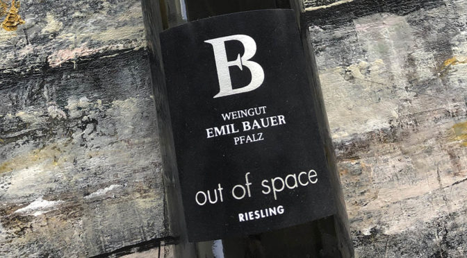 2018 Weingut Emil Bauer & Söhne, Out of Space Riesling, Pfalz, Tyskland