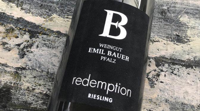 2018 Weingut Emil Bauer & Söhne, Redemption Riesling, Pfalz, Tyskland