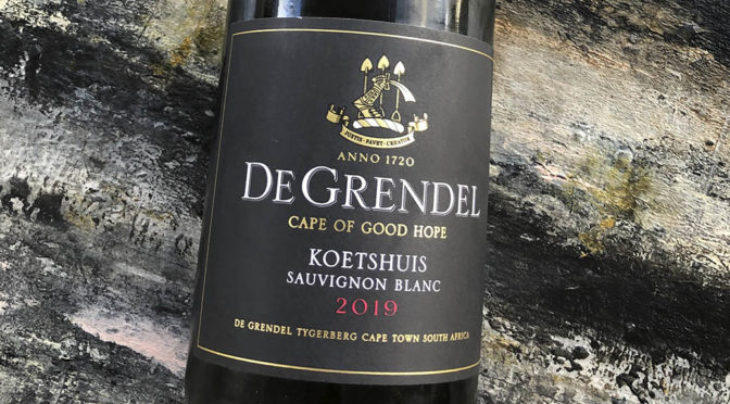2019 De Grendel, Koetshuis Sauvignon Blanc, Western Cape, Sydafrika