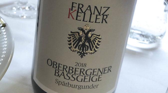 2018 Weingut Franz Keller Schwarzer Adler, Oberbergener Bassgeige Spätburgunder, Baden, Tyskland