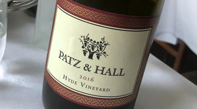 2016 Patz & Hall, Hyde Vineyard Pinot Noir Carneros, Californien, USA