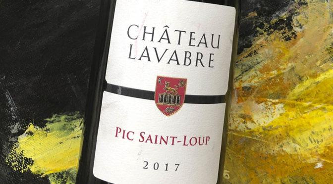 2017 Château Lavabre, Pic Saint Loup, Languedoc, Frankrig