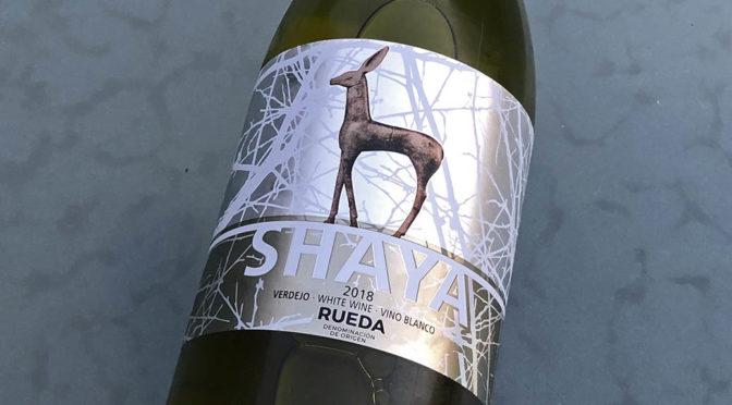 2018 Bodegas Shaya, Shaya Verdejo, Rueda, Spanien