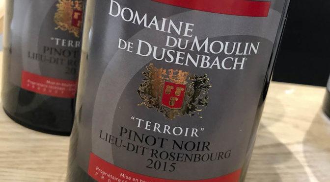2015 Domaine du Moulin de Dusenbach, Pinot Noir lieu-dit Rosenbourg, Alsace, Frankrig