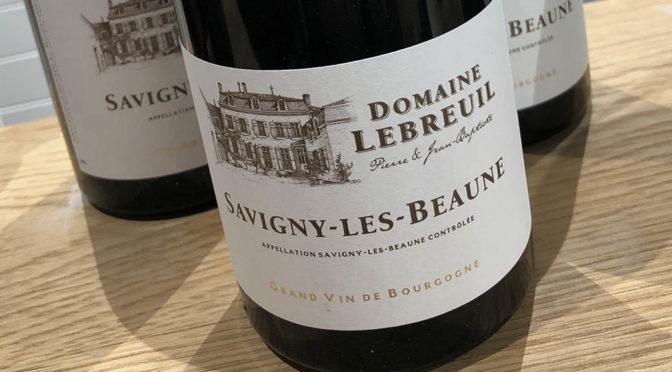 2018 Domaine Lebreuil, Savigny-les-Beaune, Bourgogne, Frankrig