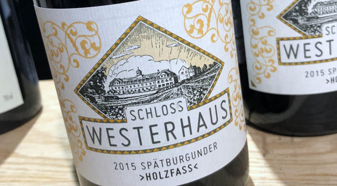 2015 Weingut Schloss Westerhaus, Spätburgunder Holzfass, Rheinhessen, Tyskland