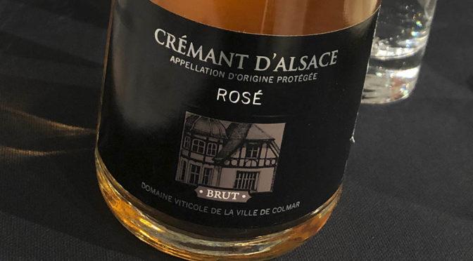 N.V. Domaine Viticole de la Ville de Colmar, Crémant d'Alsace Rosé Brut, Alsace, Frankrig