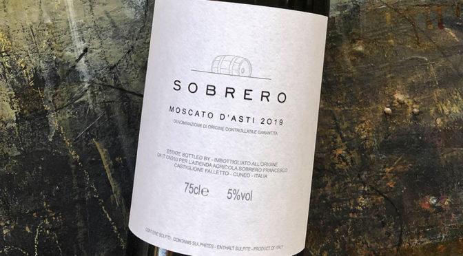 2019 Sobrero, Moscato d'Asti, Piemonte, Italien