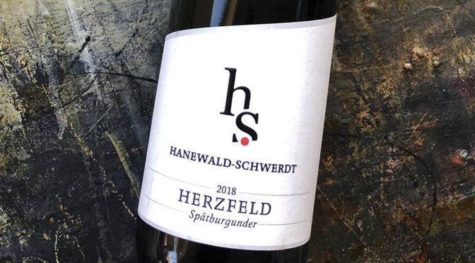 2018 Weingut Hanewald-Schwerdt, Leistadter Herzfeld Spätburgunder, Pfalz, Tyskland
