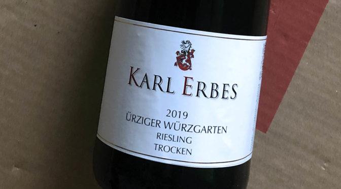 2019 Weingut Karl Erbes, Ürziger Würzgarten Riesling Trocken, Mosel, Tyskland