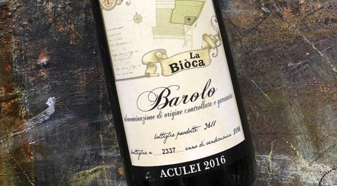 2016 La Bioca, Barolo Aculei, Piemonte, Italien